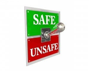 safe and unsafe