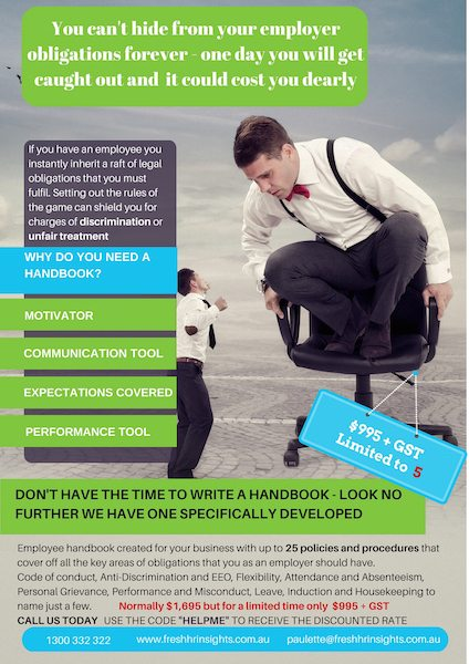 employee handbook gold coast human resource 2 - Expectations of the working relationship