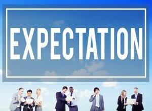 Expectations of the working relationship