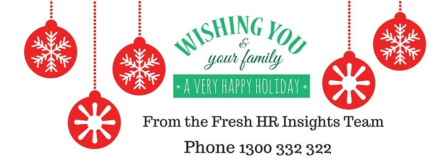 Merry Christmas Gold Coast HR employees 2 - 2016 Success in Business