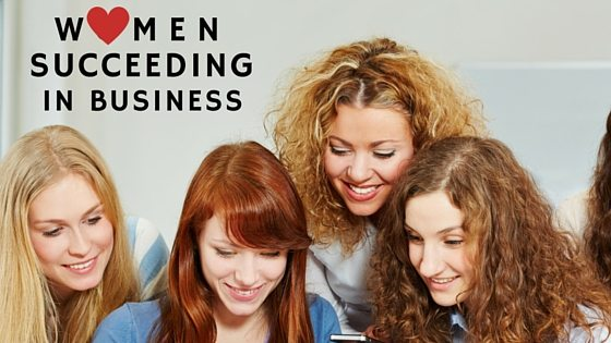 Woman Succeeding in Business