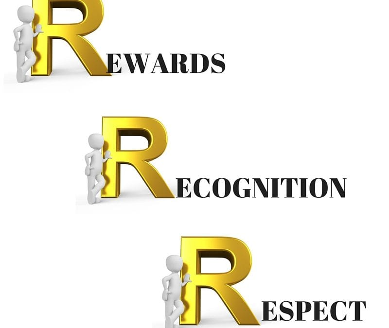 The Three R's of Employee Retention – Rewards, Recognition and Respect
