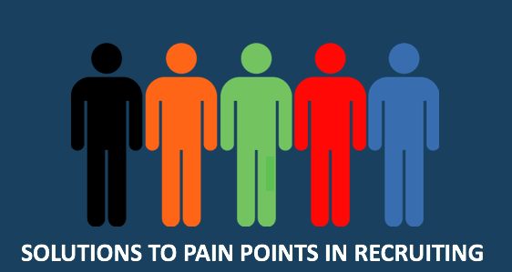 Solutions to pain points in Recruiting