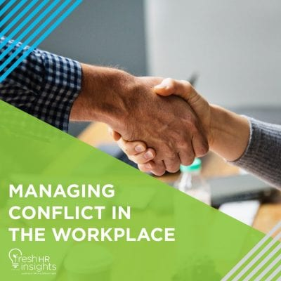 Managing Conflict in the Workplace 400x400 - HR Manuals and Workshops