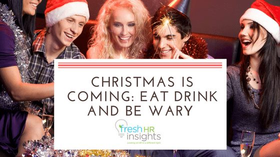 Christmas is coming: eat drink and be wary