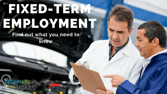 Fixed-term employment contracts - what i need to know