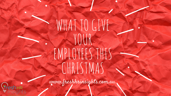 What to give your employees this Christmas
