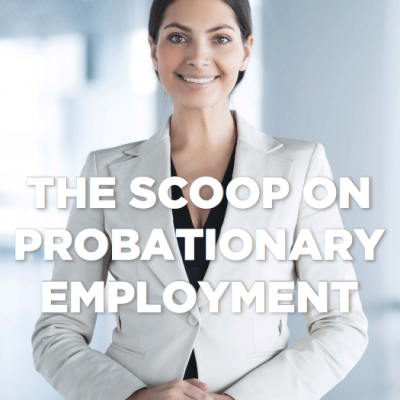 Probationary periods and new starters how does it work