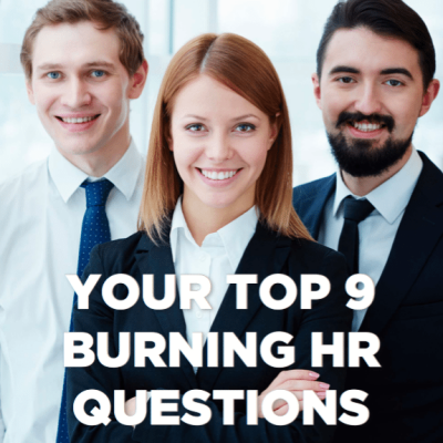 HR Questions answered with out top 9