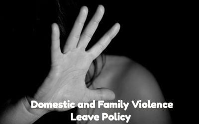 Domestic and Family Leave Policy