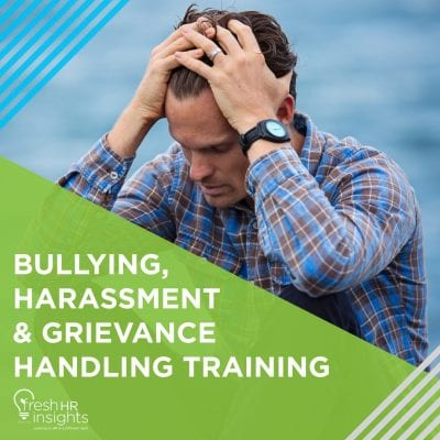 Bullying Harassment Grievance Handling Training 400x400 - HR Manuals and Workshops