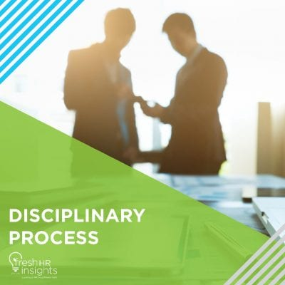 Disciplinary Process 400x400 - HR Manuals and Workshops