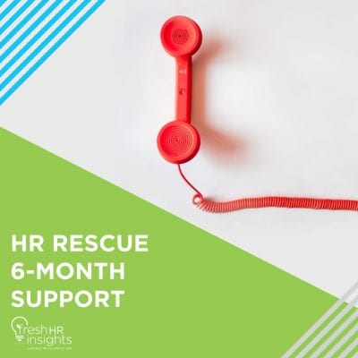 HR Rescue 6 Month Support 400x400 - HR Manuals and Workshops