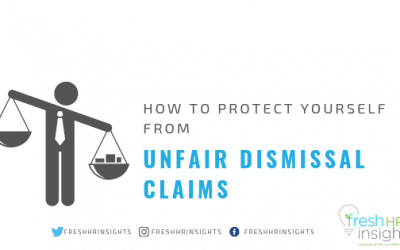 How to protect yourself from unfair dismissal claims