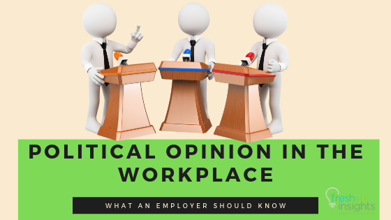 2019 Look At The Trend Of Political Opinion In The Workplace