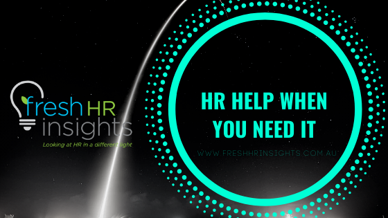 HR Help when you need it