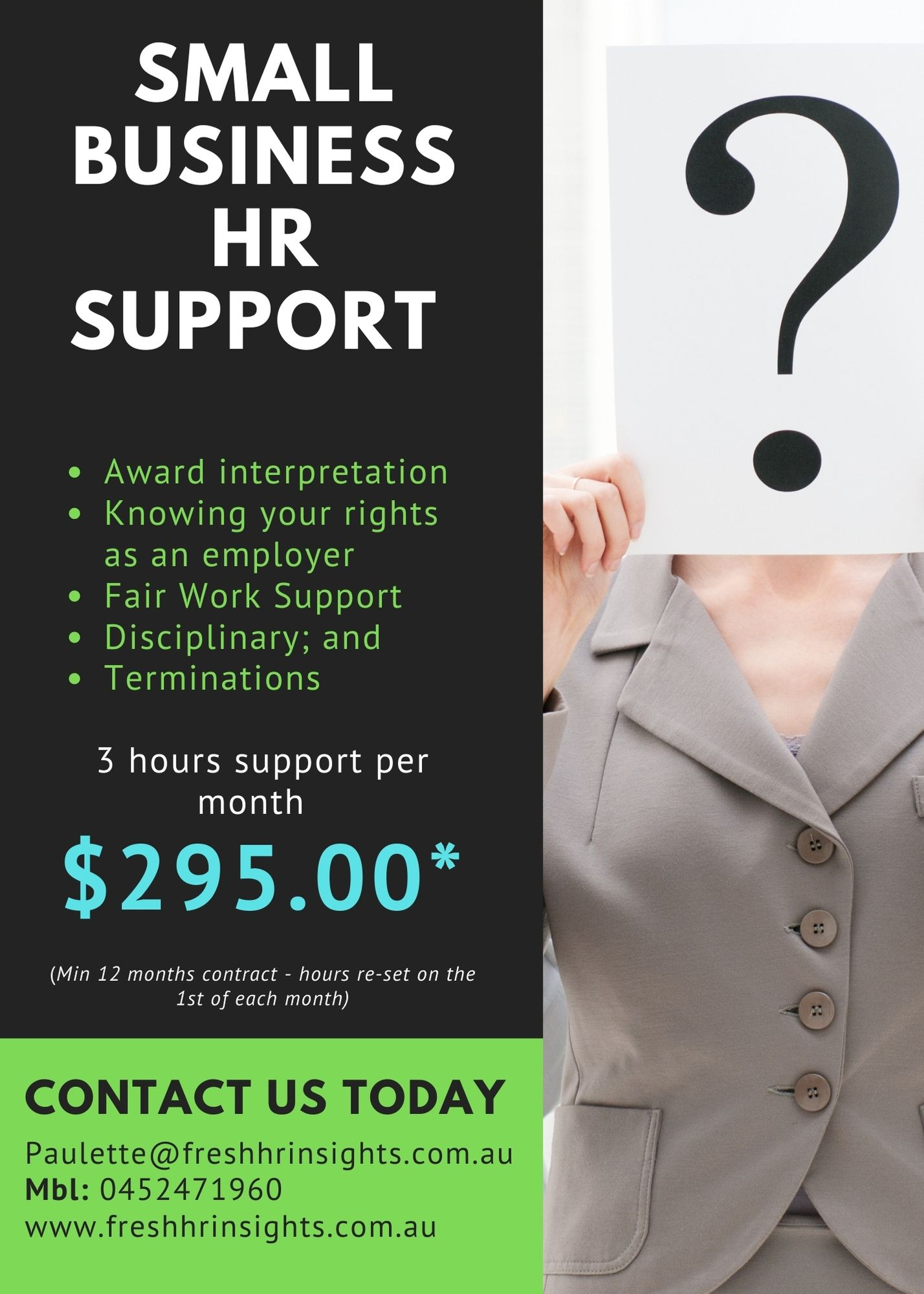 Small Business HR Support  - HR Support for Small Business