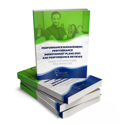 Performance Review eBook cover 400x400 - Performance Management,  Performance Improvement Plans (PIP) and Performance Reviews
