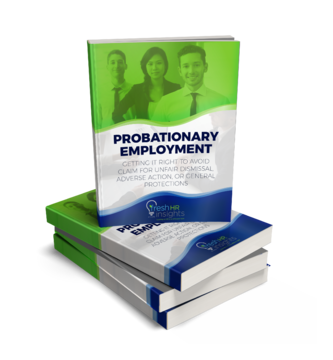 Probationary Employment eBook cover - The ergonomic office