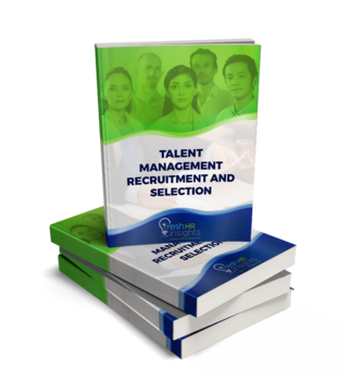Talent Managment eBook cover - Talent Management Recruitment and Selection