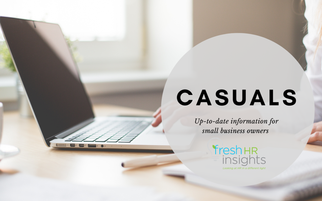 Changes in relation to Casual employees – Omnibus Bill