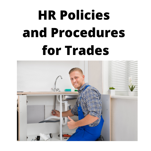 Blue and White Gaming Logo - Trades - HR Policies and Procedures