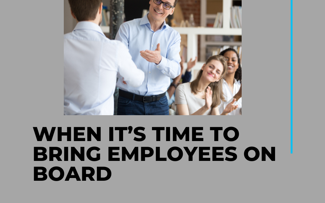 When It's Time to Bring Employees on Board The Right Time to Start Hiring Employees