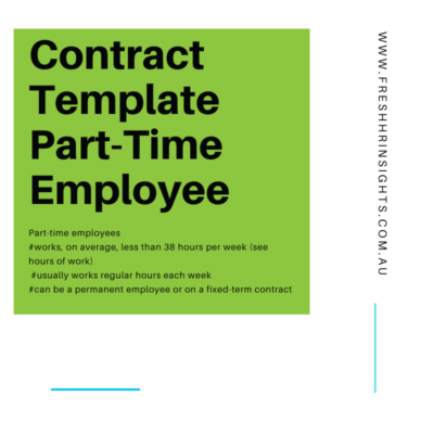 PT contract Image 400x400 - Contract Template - Part-time employee